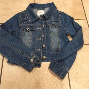 Sunchild Other - Cropped Jean Jacket