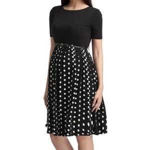 Kimi and Kai Dresses & Skirts - Kimi and Kai Emmy Polka Dot Maternity Dress