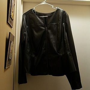 Worthington Jackets & Blazers - Gorgeous faux leather jacket