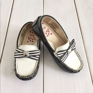 Umi Other - Umi Black and White Leather Slip On