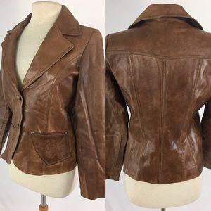 S.T.I Jackets & Blazers - Beautifully stitched leather jacket