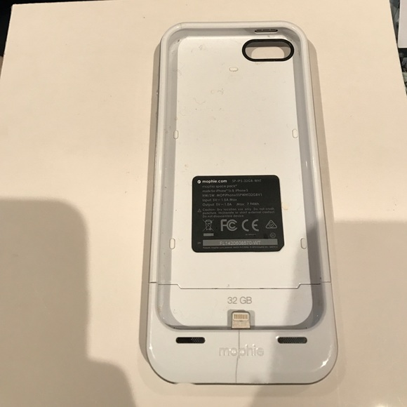 factory authentic df306 16152 iPhone 5/5s mophie space pack charging case
