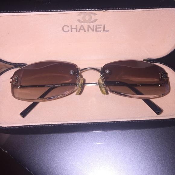 66d9514c72b3a ... CHANEL Accessories Sale Vintage Sunglasses Poshmark Vintage Chanel  sunglasses Source · rare vintage chanel sunglasses 01949 94305 from their  by Depop