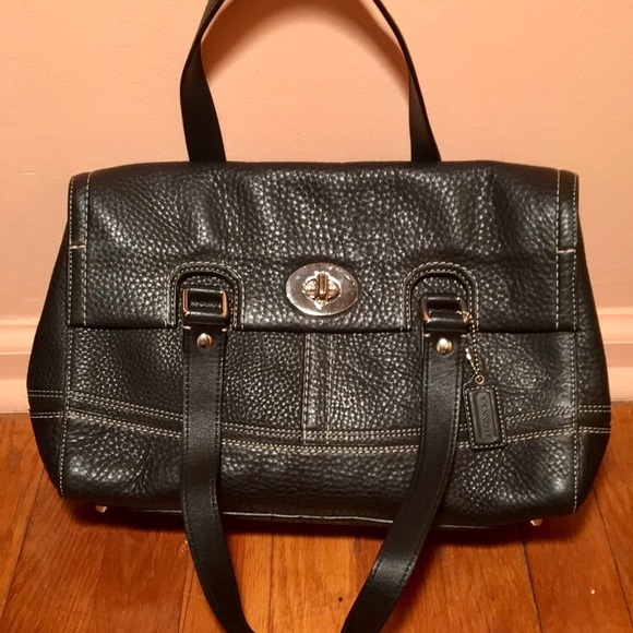 3f33608663 ... get brand new coach shoulder bag black coach bag 32ae3 ea7bc ...