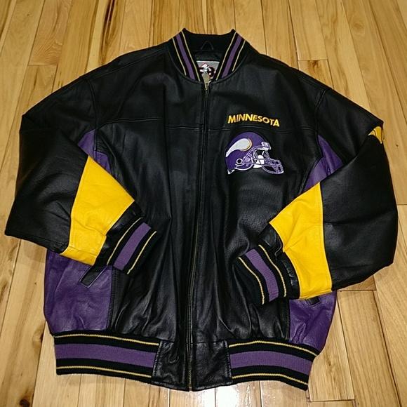 Minnesota Vikings leather bomber XL. M 58eeef742de512d9aa0148e5 b87c8d374