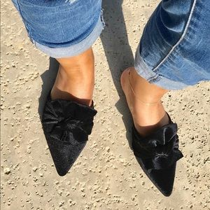 cape robbin Shoes - HP 🎉🎉🎉Last Pair❗️5 ⭐️ rated Black Velvet Mule-