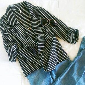 Olivia Moon Tops - Super chic knit blazer