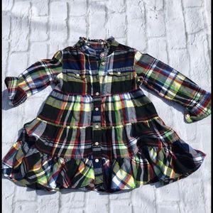 Ralph Lauren Other - Ralph Lauren 2t plaid shirt dress like new