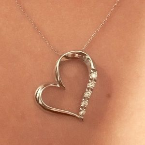Kay Jewelers Jewelry - Diamond Necklace (Heart Shaped)