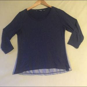 Horny Toad Tops - Horny toad navy blue top