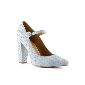 cecelia Shoes - New Cecelia blue snakeskin Jenny heels