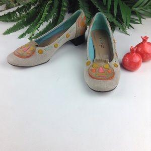 Anthropologie Shoes - Vero Modern Art Colorful Pumps
