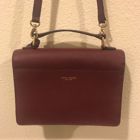 henri bendel Bags - Henri Bendel maroon crossbody purse bag