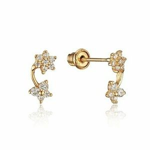 s starter earrings 14k cz earrings starter for piercing os from 5123