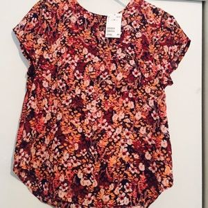 H&M Tops - H&M FLORAL TOP NWT