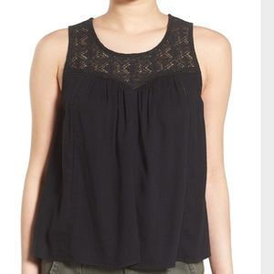 Hinge Tops - Hinge Sleeveless Lace Top