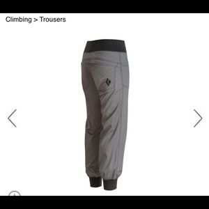Black Diamond Pants - Black diamond Notion Pant NWT climbing/yoga