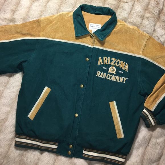 Vintage Arizona Sports Jacket Xx6dM78