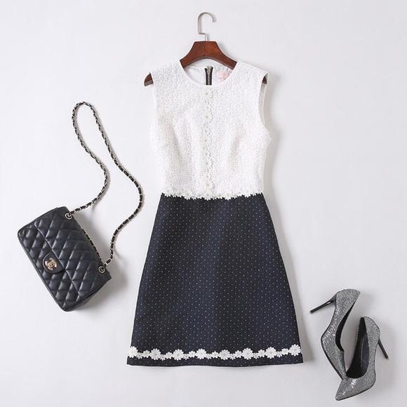 98868a49f Ted Baker Olara daisy lace dress elegant A-line