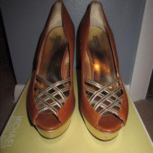 "MICHAEL Michael Kors Shoes - MICHAEL by Michael Kors ""Lana"" Platforms | 9.5"