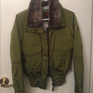 Peuterey Jackets & Blazers - Green snow jacket