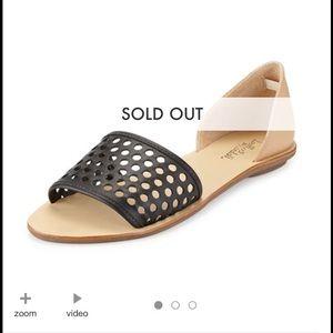 Loeffler Randall Shoes - Perfect Loeffler Randall black/buff sandals