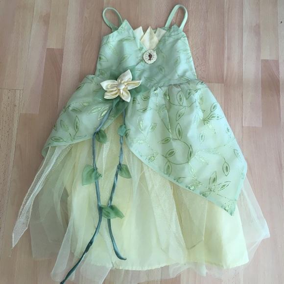Disney Parks Princess Tiana Costume Girls Size 4/5