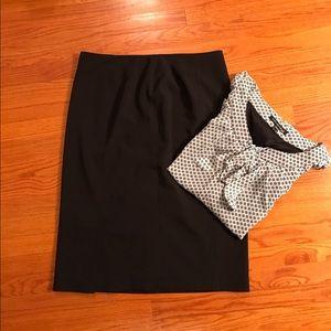 Jones New York Dresses & Skirts - Jones New York Black Suit Skirt.  Size 6