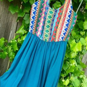 Pants - Multi Color Bodice Romper