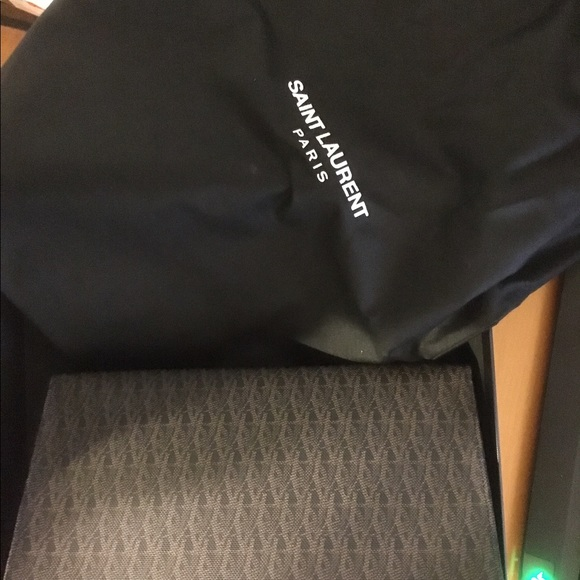 a0c7e4b683d Saint Laurent Bags | Classic Toile Monogram Cosmetic Case | Poshmark