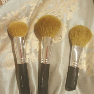 Bare Escentuals Other - 3 Bare Minerals Face Brushes