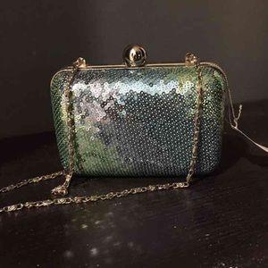 Handbags - Iridescent Shimmer Special Occasion Handbag Clutch