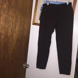 Eileen Fisher dress pants; rayon, nylon, spandex