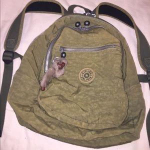 Kipling Handbags - Kipling medium nylon backpack with padded straps