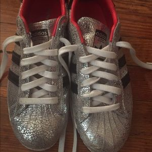 Shoes Superstar 80s Adidas Topshop 8 Silver 5 yI6Yv7mbfg