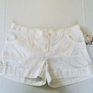 Kenzie Pants - ⬇KENZIE WHITE 100% COTTON NWT WITH CUFFS 12