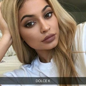 """Kylie Cosmetics Other - Dolce K Mini Matte Lipstick """"swatched"""""""