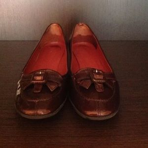 Miu Miu Shoes - MIU MIU patent leather rust color loafer Sz 8