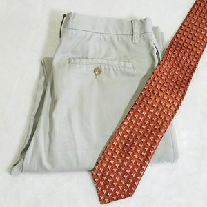 Banana Republic Other - Banana Republic Off-White Cotton Dress Pants M13