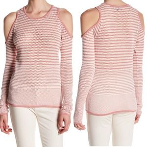 Romeo & Juliet Couture Sweaters - Romeo & Juliet Long Sleeve Knit Cold Shoulder