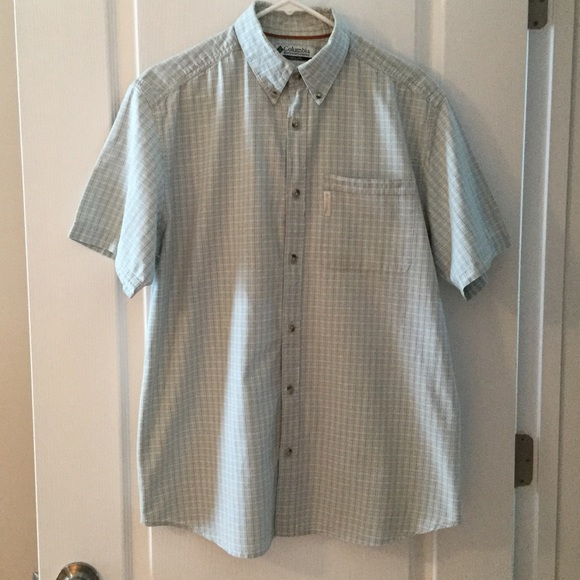 84 Off Columbia Other Men 39 S Short Sleeved Button Down