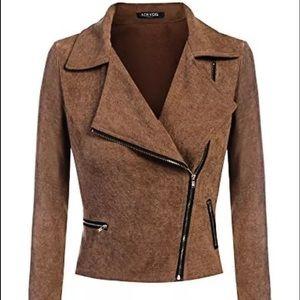 acevog Jackets & Blazers - Casual asymmetrical moto jacket medium