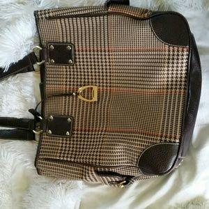 Chaps Handbags - Ralph Lauren Chaps plaid handbag