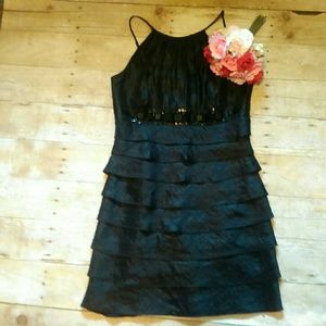 Cache Dresses & Skirts - Cache Little Black Dress Size 4 Prom Graduation
