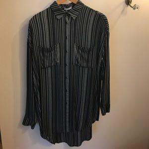 Gentlefawn Carbon Stripe Voyage Dress
