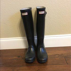 Hunter Rain boots- Black