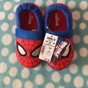 Spiderman Other - NWT Spider-Man slippers