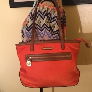 🌺 MK Orange Shoulder Bag