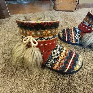 Rocket Dog Shoes - Rocket Dog Mocassin Style Slipper Boots