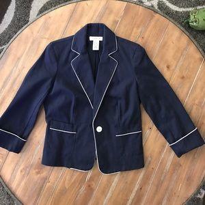 Isaac Mizrahi for Target Navy Blazer